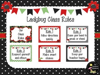 Ladybug Class Rules