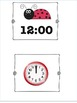 Ladybug Clock Game to the hour