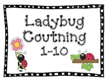 Ladybug Counting (1-10)