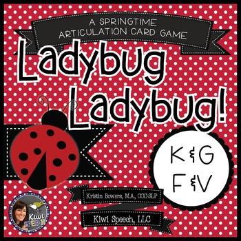Ladybug Ladybug! - A Spring Articulation Game for Speech -