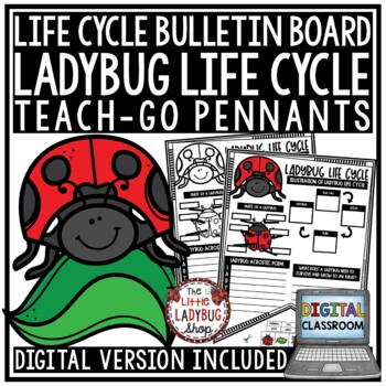 Ladybug Life Cycle Activity • Teach-Go Pennants