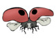 Ladybug Life Cycle Clip Art - Whimsy Workshop Teaching