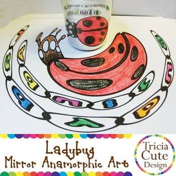 Ladybug Life Cycle – Mirror Anamorphic Science Lesson Inte