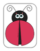 Ladybug Love - Initial /L/ Craft for Speech Therapy { Cut