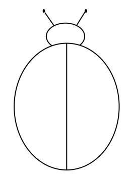 Ladybug Math Sorting Mat