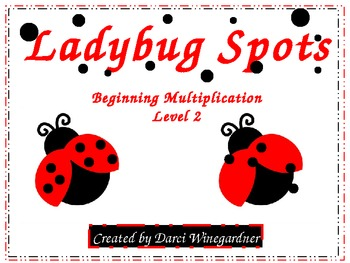 Ladybug Spots: Beginning Multiplication Level 2