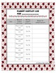 Ladybug Student Info Sheets