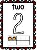 Ladybug Ten Frame Number Posters