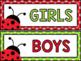 Ladybug Classroom Decor Bundle {500+ pages!}