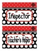 Ladybug Theme Classroom Jobs Display