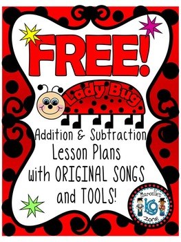 Ladybug (insects) Original Addition & Subtraction Songs wi