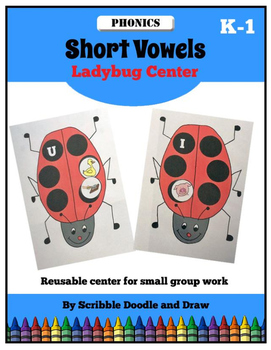 Short vowels- Ladybug center