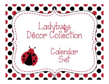 Ladybugs Decor: Calendar