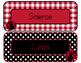 Ladybugs Decor: Editable Subject Labels