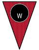 Ladybugs Decor: Welcome Banner & Editable Pennants