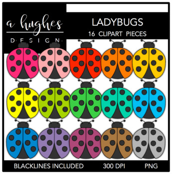 Ladybugs {Graphics for Commercial Use}