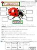 "Ladybugs - Informational Text Comprehension using ""Ladybug"