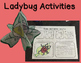 Ladybugs: Life Cycle and Anatomy minibook  plus activities