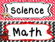 Ladybugs themed Printable Classroom Center Signs. Class Ac