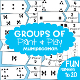 Multiplication Game Activity - Groups Of