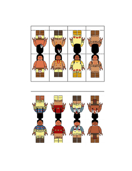 Lakota Sioux and Pueblo Native American Figures