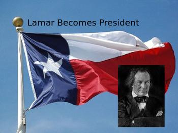 Lamar Becomes President