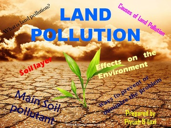 Land Pollution : Causes, Effects on Environment and Health