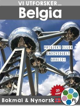 Land i Europa - Belgia [Utforskingsopplegg] [BM&NN]