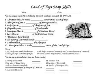 Land of Toys Map