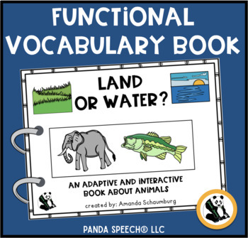 Land or Water Animal? An Adaptive and Interactive Book Abo