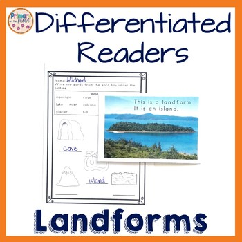 Landform Readers- Differentiated into 3 levels