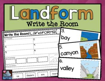 Landform Write the Room
