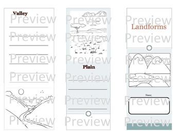 Landforms Pamphlet