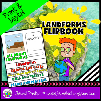 Landforms Activities (Landforms Flipbook)