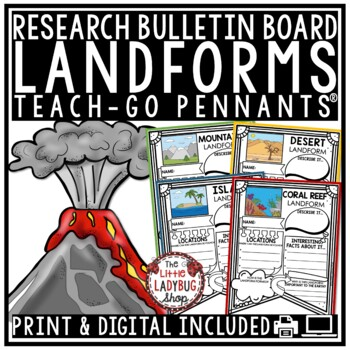 Landforms Activities Research Project & Rubric
