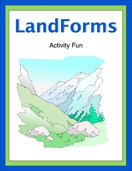 Landforms Activity Fun