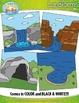 Landforms Clip Art Set — Includes 50 Graphics!