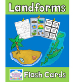 Landforms Flash Cards