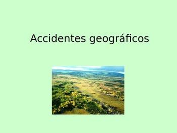 Landforms Introductory Presentation - Spanish