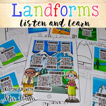 Landforms Listen and Learn