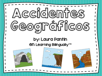 Landforms Unit in Spanish
