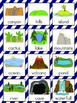 Landforms Vocabulary Cards