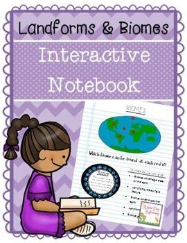 Landforms and Biomes Interactive Notebook