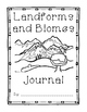 JOURNAL Landforms and Biomes