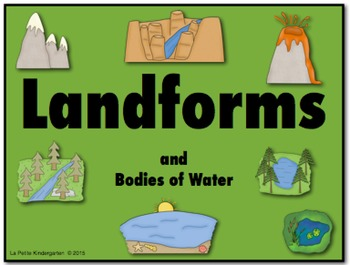 Landforms and Bodies of Water