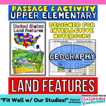 Landforms Passage: Non-Fiction Reading Passage