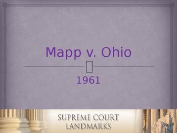 Landmark Supreme Court Cases - Mapp v. Ohio