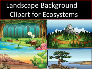Landscape Background Clipart For Ecosystems