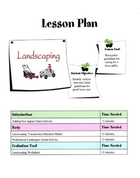 Landscaping Lesson