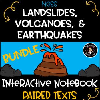 Landslides, Earthquakes & Volcanoes- Interactive Science N